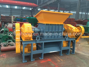 Double Shaft Shredder, Automatic Paper Cutting Machine, Waste Plastic/Metal/Rubber Tire Recycle Machine pictures & photos