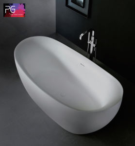 Customized Design Matte Finish Cheap Freestanding Bathtub pictures & photos