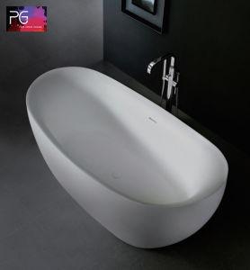 Customized Design Matte Finish Cheap Freestanding Bathtub pictures & photos