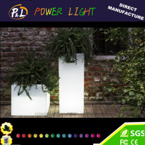 Glowing Illuminated LED Lighted Planter Pot pictures & photos