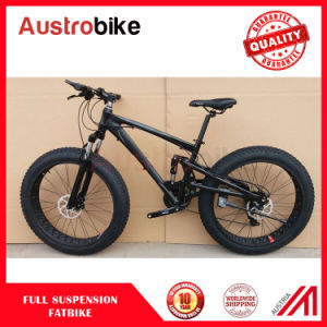 Full Suspension Fat Bike Full Suspension Fatbike Fat Tyre pictures & photos