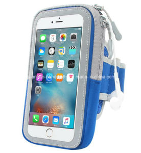 Custom High Quality Neoprene Sports Outdoor Gym Smart Phone Arm Bag pictures & photos
