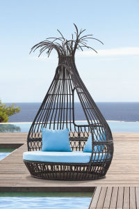 Bongo Rattan Daybed Outdoor Furniture pictures & photos