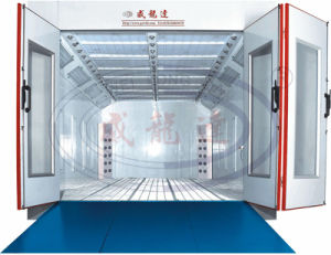 Wld8400 Water Based Car Paint Booth with Ce Certification pictures & photos