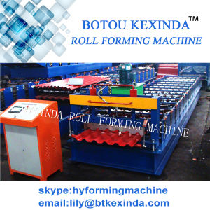 Roofing Tile Roll Forming Machine Metal Roofing Roll Forming Machine pictures & photos