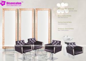 Popular High Quality Salon Furniture Mirror Barber Salon Chair (P2014E)
