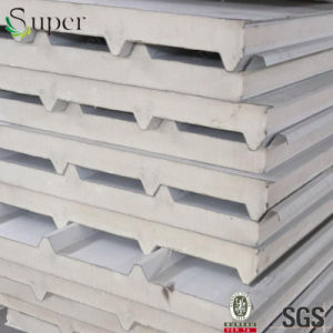 Prepainted Galvanized Steel PU Sandwich Wall Panel pictures & photos