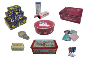 Design Multi Shaped Tin Box pictures & photos