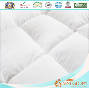 Wholesale Anti Allergy Duck or Goose Feather Down Featherbed pictures & photos