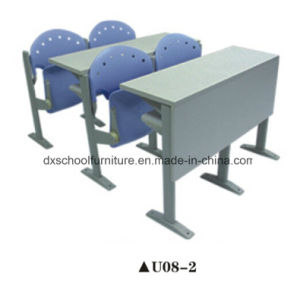High Quality Student Desk and Chair for Step Classroom pictures & photos