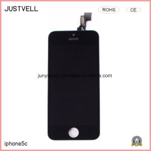 Mobile/Cell Phone LCD Touch Screen for iPhone 5c Display Digitizer pictures & photos