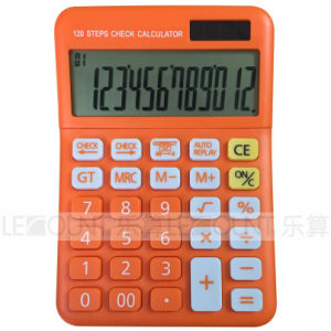 New Design 12 Digits Large LCD Screen Check & Correct Function Desktop Calculator, with Fancy Optional Colors (CA1222) pictures & photos