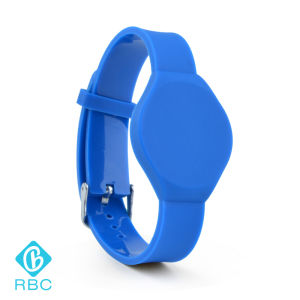 13.56MHz Silicone Watch Classic 1k RFID Wristband/Smart Bracelet pictures & photos