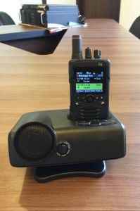 P25 Fire Voice Pager, VHF+700-800MHz Fire Pager for Firefighter