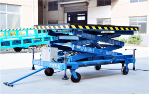1000kg Small Hydraulic Scissor Aerial Platform (SJY1-2.1) pictures & photos