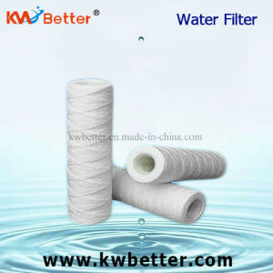 "Cotton String Wound Press Line Type String Water Filter Cartridge 10"" 20"" pictures & photos"