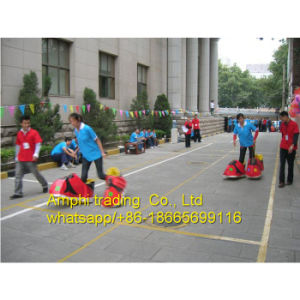 Race Inflatable PVC Shoes for Sport Game
