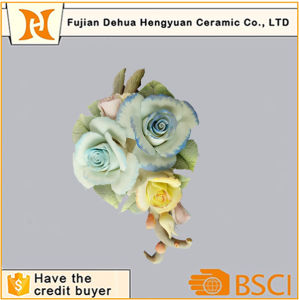 Handmade Porcelain Flowers Wholesale for Gifts and Crafts pictures & photos