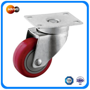 3-Inch Precision Ball Bearing 100kg Loading Capacity TPU Caster Wheels pictures & photos