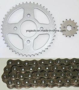 Motorcycle Chain Sprocket Set, Repuestos PARA Motocicletas, Kit De Transmision, Cg150 Jialing125 Jh125L 42t 45t 46t pictures & photos