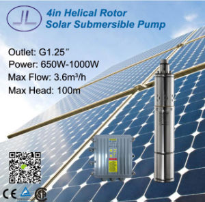 4in Helical Rotor Solar DC Pump for Irrigation, Deep Well Pump pictures & photos
