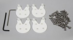 Motor Mount Protector Quick Release Mount for Dji Phantom 3 pictures & photos