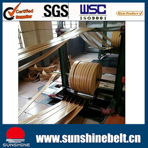Cut Edge, Molded Edge Flat Transmission Rubber Conveyor Belt pictures & photos