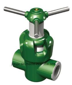 API 6A Mud Valve (Threaded end) Used in Oil Field pictures & photos