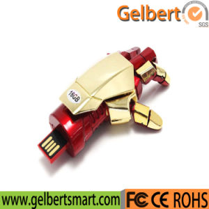 Best Price Iron Man Hand Shape USB Flash Disk pictures & photos