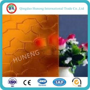 Amber Karatachi, Nashiji, Flora Pattern Glass with Ce ISO pictures & photos