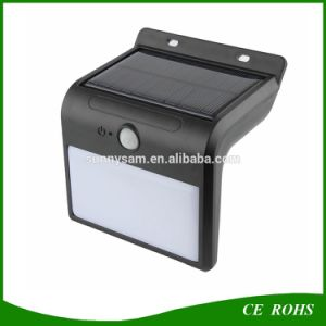 The Most Popular New Arrival 16 LED Solar Motion Sensor Garden Security Lamp Outdoor Waterproof Solar Stair Fence Light pictures & photos