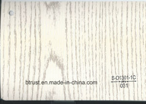 Wood Grain PVC Deco Foil for Furniture/Cabinet/Door Hot Laminate/Vacuum Membrane Press Bgl031-036 pictures & photos