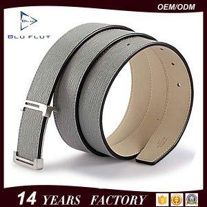 Fashion Men′s Genuine Black Leather Dress Belt pictures & photos