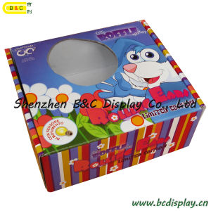 Hot Selling All Kinds of Color Box, Paper Box, Cardboard PDQ Displa Box with Circle Window (B&C-I022) pictures & photos