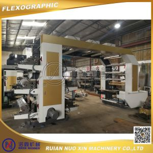 Six Colors Double Side Flexographic Printing Machine pictures & photos