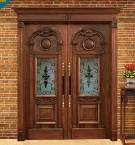 2016 Hot Sale Good Quality Exterior Wood Door for Villa (DS-1001) pictures & photos