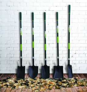 Garden Tools D Shaped Forged Steel Shovel Garden Spade with Fiberglass Handle pictures & photos