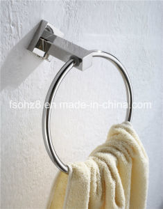 Unique Modern Simple Chrome Bathroom Accessory Towel Ring (2304) pictures & photos
