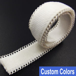 Factory Price Jacquard Elastic Branded for Bra Strap pictures & photos