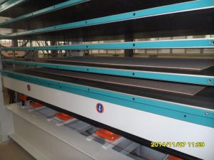 Hyraulic Hot Press Machine for Doors pictures & photos