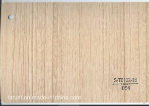 Wood Grain PVC Decorative Film/Foil for Cabinet/Door Vacuum Membrane Press Bgl084-089 pictures & photos