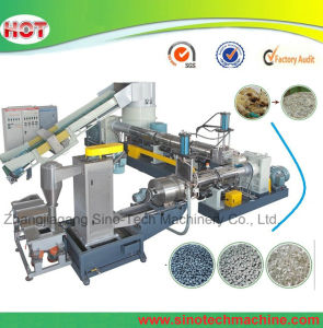 PP, PE Film Granulation Line Plastic Recycling Machine pictures & photos