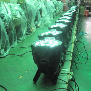Disco Stage 18X18W Rgbwauv 6in1 Zoom LED PAR Light pictures & photos