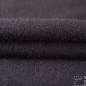 100% Double Sides Cashmere Fabrics for Winter Season in Black pictures & photos