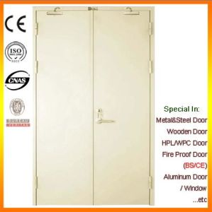 Double-Leaf Steel Fireproof Heat-Proof Door pictures & photos