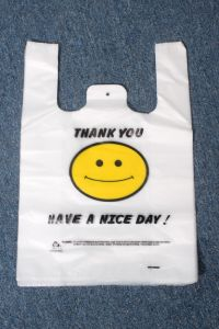 HDPE Strong T-Shirt Bag in Pack pictures & photos