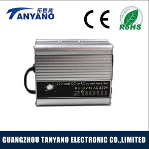 Tanyano DC12/24V to AC220V 200W Modified Sine Wave Inverter with USB pictures & photos