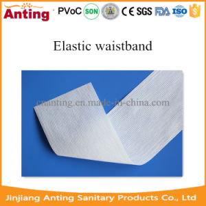 Elastic Waistband Raw Material for Disposable Diaper Non Woven pictures & photos