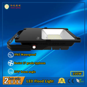 IP65 Outdoor LED Flood Lamp 100W with Mean Well Brand Power Supply pictures & photos
