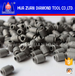7.2mm Sintered Diamond Wire Saw Beads for Stone Profiling Cutting pictures & photos